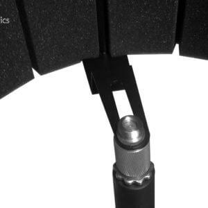 Защитный акустический экран для микрофона
