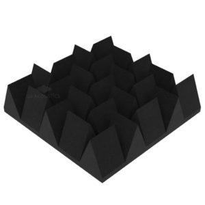 Акустический поролон клин 140 (50 х 50 см) черный графит UA Acoustics
