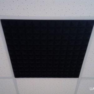 Панель из акустического поролона для потолочных систем армстронг