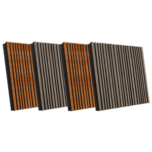 Звукопоглощающая акустическая панель «Stripes» | Oak Of Sonoma