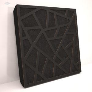 Звукопоглощающая акустическая панель «Skyross» Base Black