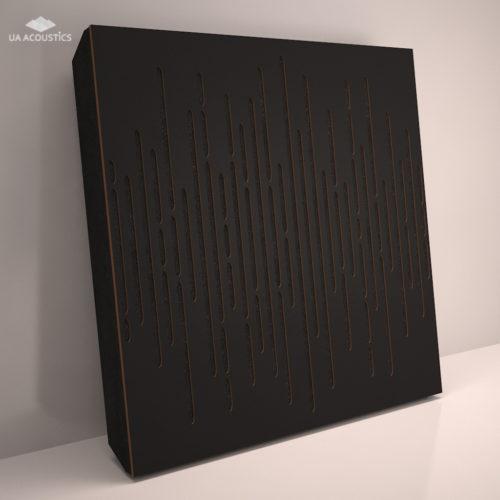 Звукопоглощающая акустическая панель «Wave Panel» Base | Black