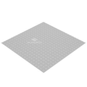 Акустический поролон пирамида 15 мм (1 х 1 м) серый UA Acoustics