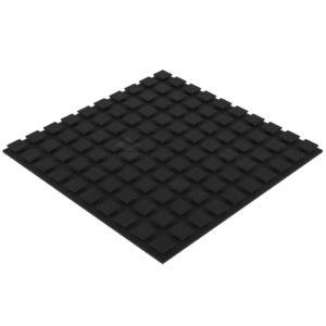 Акустический поролон плитка 20 мм (50 х 50 см) черный графит UA Acoustics