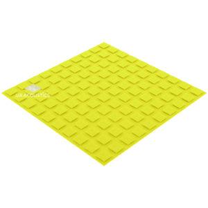 акустический поролон плитка xl (20 мм) желтый
