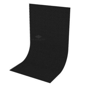 Акустический поролон волна 20 мм (2 х 1 м) черный графит UA Acoustics