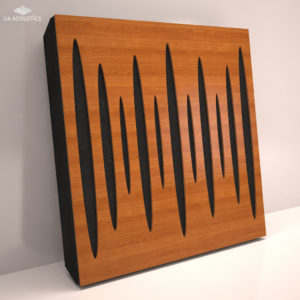 Звукопоглощающая акустическая панель «Pulsar» Base (Cherry)