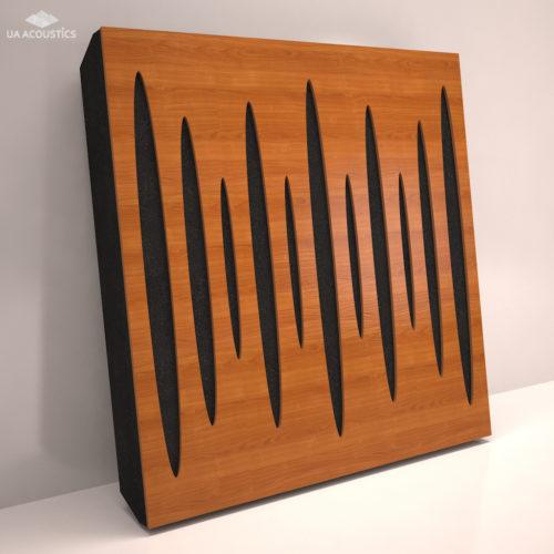 Звукопоглощающая акустическая панель «Pulsar» Base   Cherry