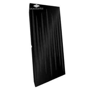 Звукопоглощающая акустическая панель (Pulsar Long) Base - Black Gloss