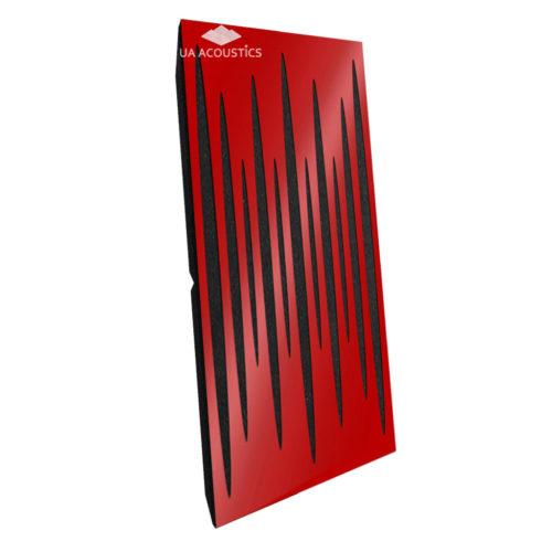 Звукопоглощающая акустическая панель «Pulsar Long» Base | Red Gloss