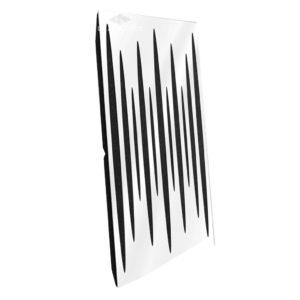 Звукопоглощающая акустическая панель (Pulsar Long) Base - White Gloss