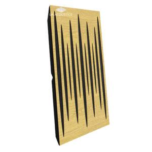 Звукопоглощающая акустическая панель (Pulsar Long) Maxi - Oak