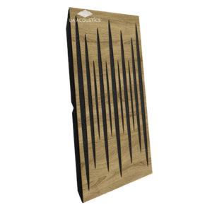 Звукопоглощающая акустическая панель (Pulsar Long) Maxi - Oak Of Sonoma