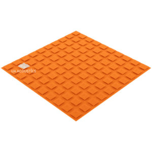 акустический поролон плитка xl (20 мм) оранжевый