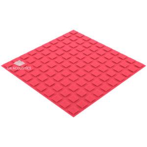 акустический поролон плитка xl (20 мм) розовый