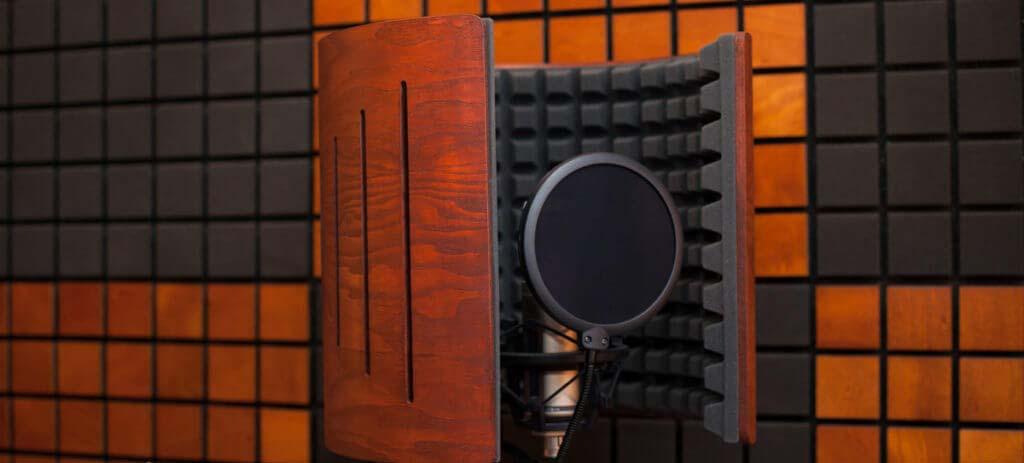 Акустический экран для микрофона