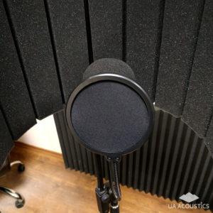 Поп-фильтр для микрофона (100х270х40 мм)