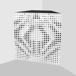 Басовая ловушка «Universe» Maxi (White Gloss)