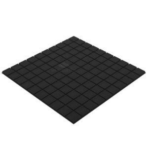 Акустический поролон квадра 20 мм (1 х 1 м) черный графит UA Acoustics